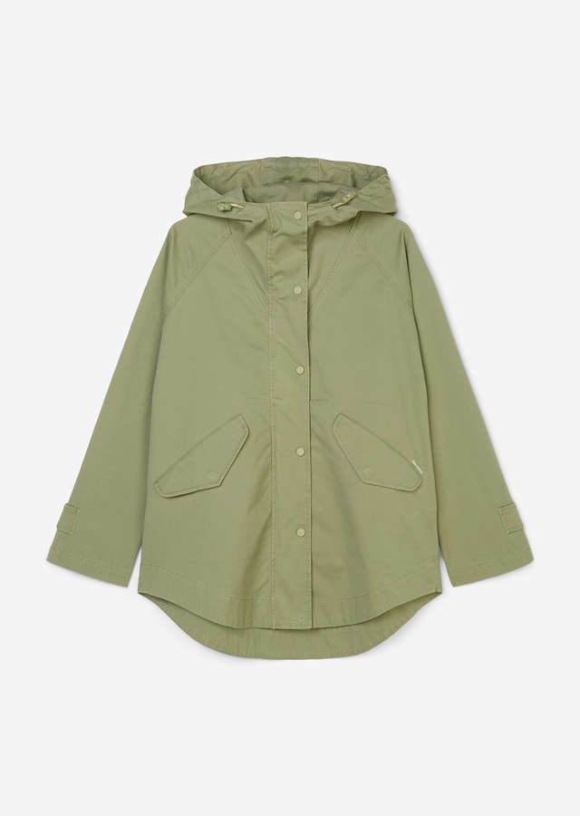 Outdoor Cape-Jacke dried sage
