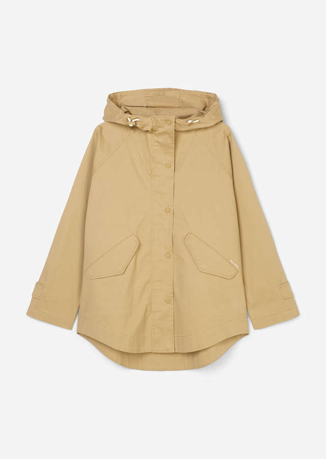 Outdoor Cape-Jacke sandy beach