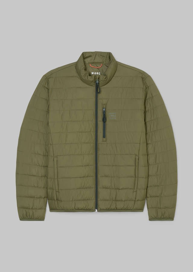 No-Down Steppjacke utility olive