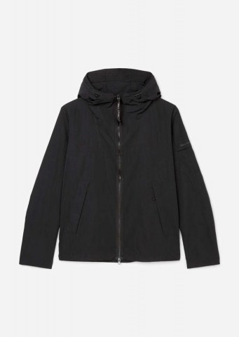 Nylon Funktionsjacke black